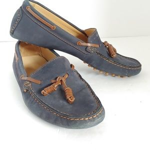 J. Crew Italian Leather Moccasin Loafers